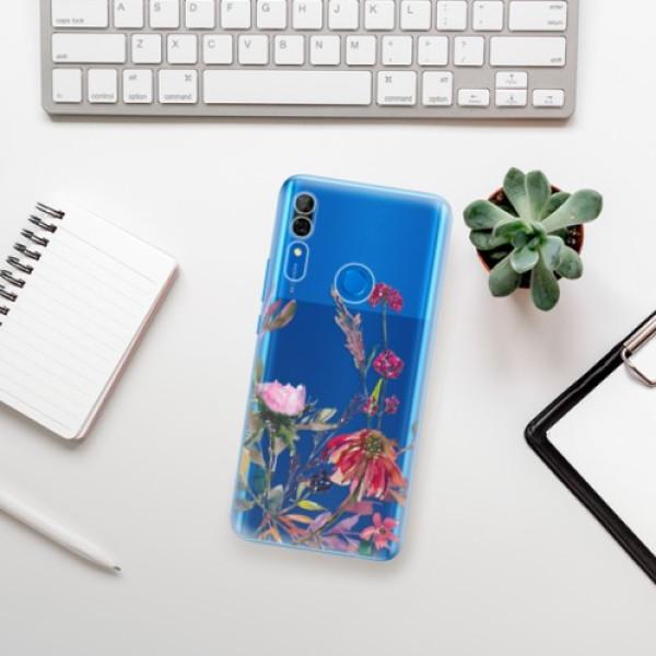 Odolné silikonové pouzdro iSaprio - Herbs 02 - Huawei P Smart Z