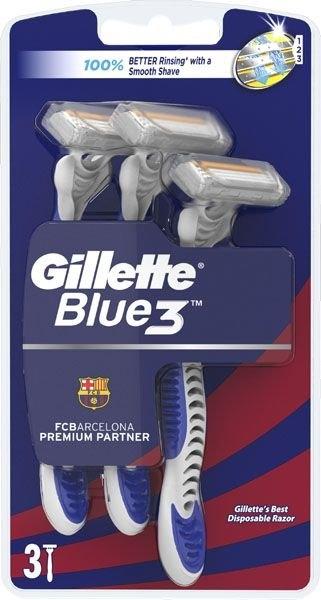 Blue3 Barcelona jednorázová pánská holítka 3ks