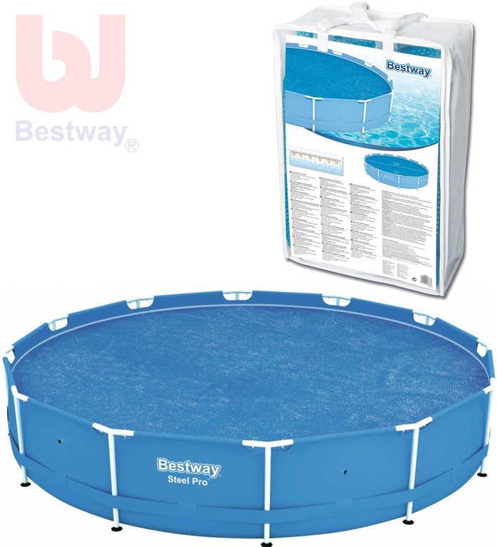 BESTWAY Plachta solární na bazén kulatý 366cm P58242