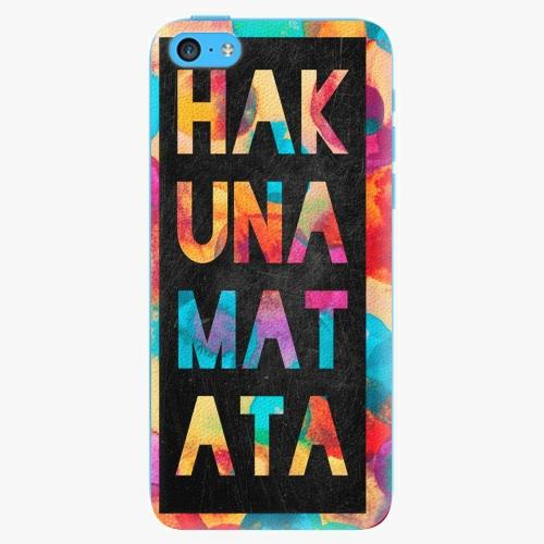 Plastový kryt iSaprio - Hakuna Matata 01 - iPhone 5C
