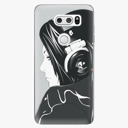 Plastový kryt iSaprio - Headphones - LG V30