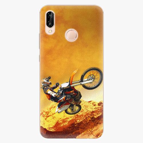 Plastový kryt iSaprio - Motocross - Huawei P20 Lite