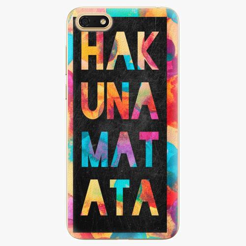 Plastový kryt iSaprio - Hakuna Matata 01 - Huawei Honor 7S