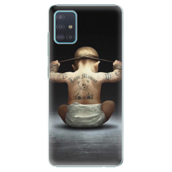 Plastové pouzdro iSaprio - Crazy Baby - Samsung Galaxy A51