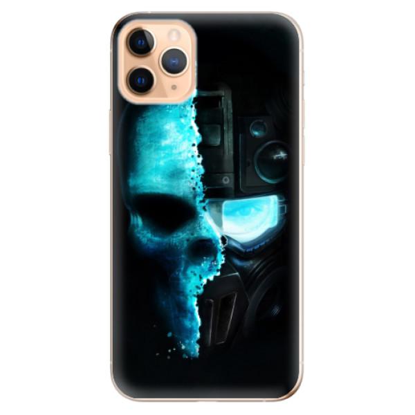 Odolné silikonové pouzdro iSaprio - Roboskull - iPhone 11 Pro Max