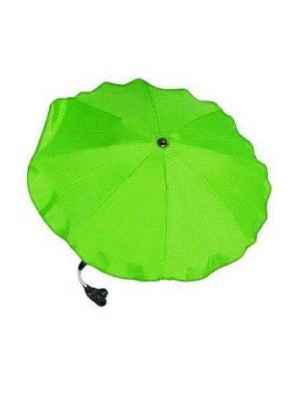 Slunečník na kočárek - zelená
