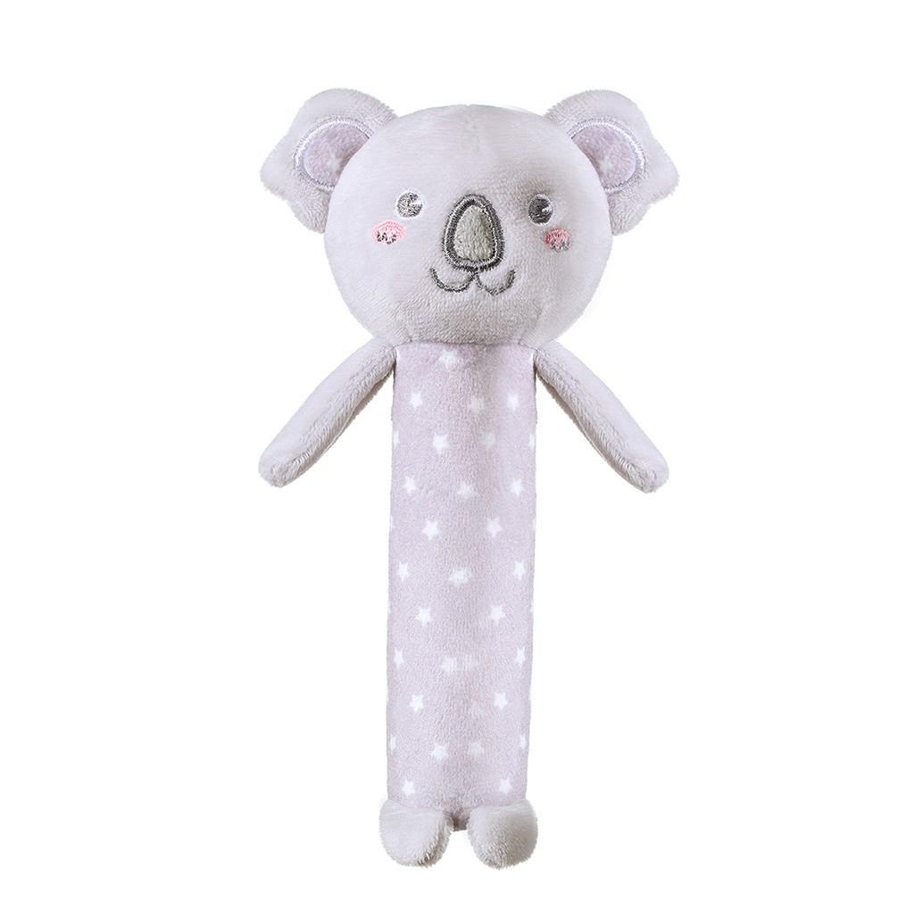 Plyšová pískací hračka Baby Ono - Koala Jules - šedá