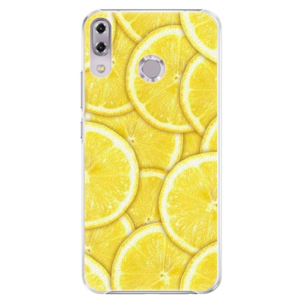 Plastové pouzdro iSaprio - Yellow - Asus ZenFone 5Z ZS620KL