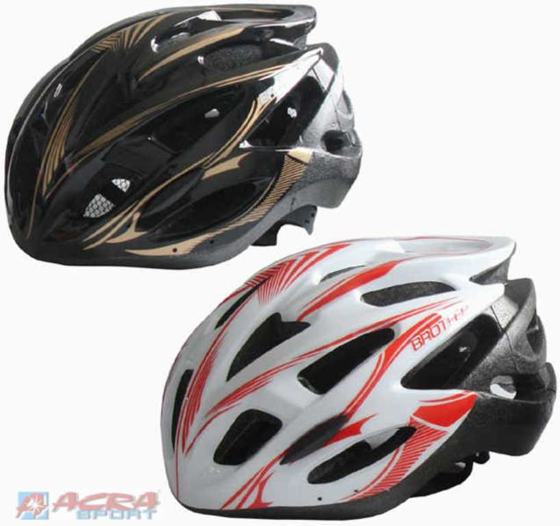 ACRA Helma cyklistická odlehčená vel.L (58-60cm) 24 otvorů 2 barvy