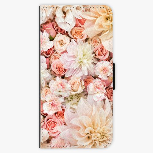 Flipové pouzdro iSaprio - Flower Pattern 06 - Samsung Galaxy A3 2017