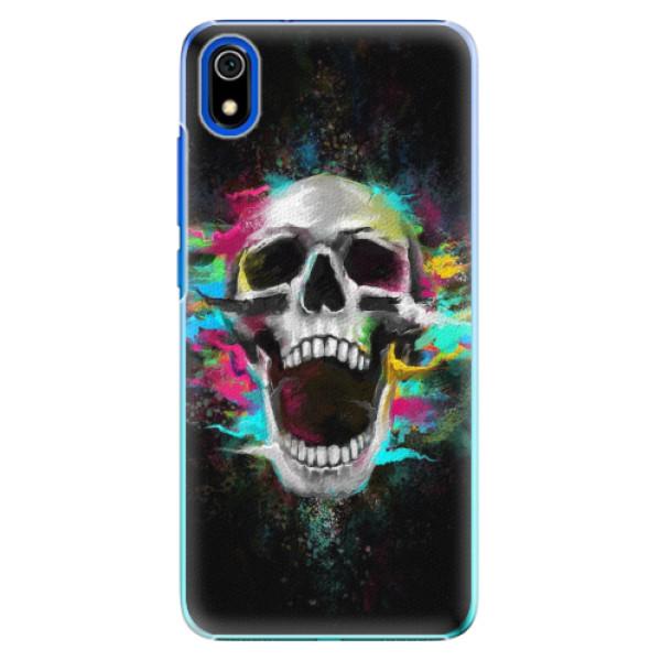 Plastové pouzdro iSaprio - Skull in Colors - Xiaomi Redmi 7A
