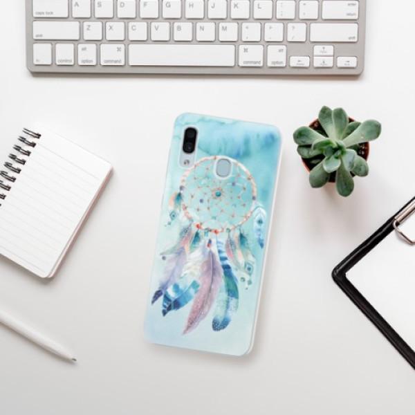 Silikonové pouzdro iSaprio - Dreamcatcher Watercolor - Samsung Galaxy A30