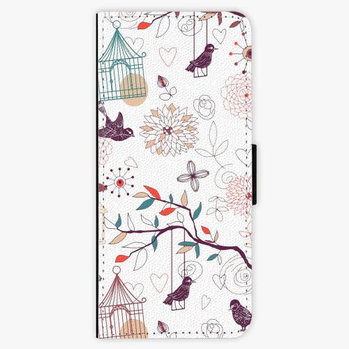 Flipové pouzdro iSaprio - Birds - Samsung Galaxy J3 2016