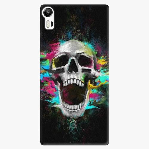 Plastový kryt iSaprio - Skull in Colors - Lenovo Vibe Shot