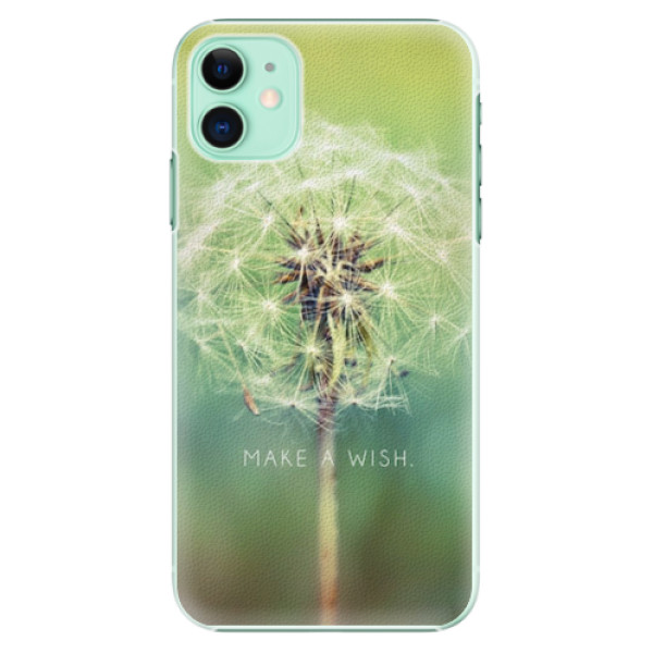 Plastové pouzdro iSaprio - Wish - iPhone 11