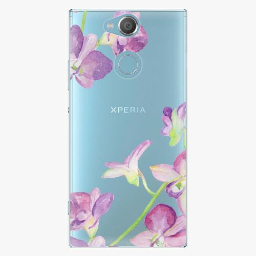 Plastový kryt iSaprio - Purple Orchid - Sony Xperia XA2