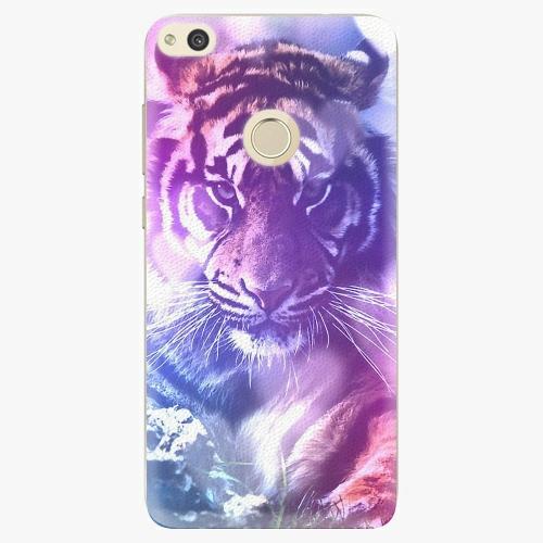Plastový kryt iSaprio - Purple Tiger - Huawei P8 Lite 2017