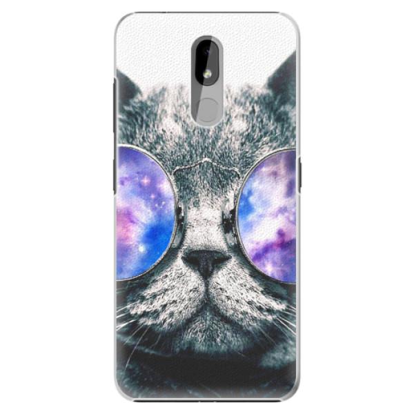 Plastové pouzdro iSaprio - Galaxy Cat - Nokia 3.2