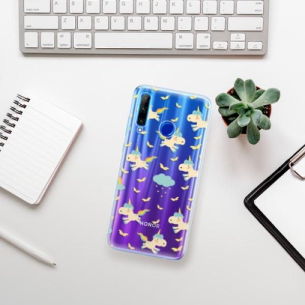 Odolné silikonové pouzdro iSaprio - Unicorn pattern 01 - Huawei Honor 20 Lite