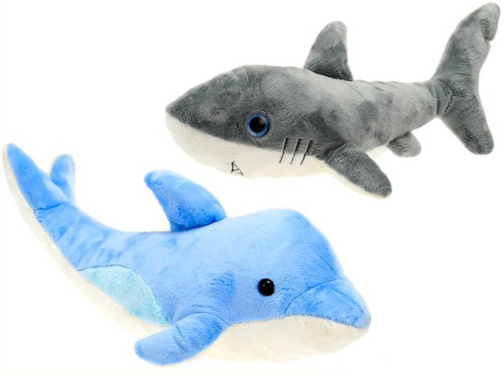 PLYŠ Zvířátko ryba oceán 42-44cm velké různé druhy *PLYŠOVÉ HRAČKY*