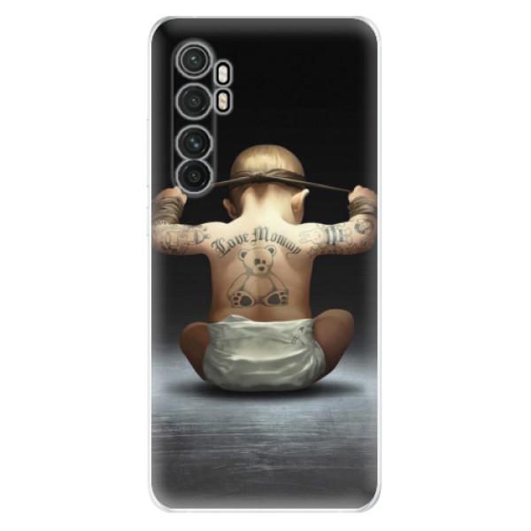 Odolné silikonové pouzdro iSaprio - Crazy Baby - Xiaomi Mi Note 10 Lite