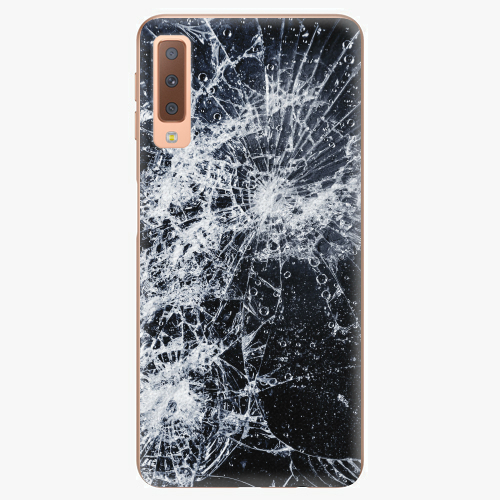 Plastový kryt iSaprio - Cracked - Samsung Galaxy A7 (2018)