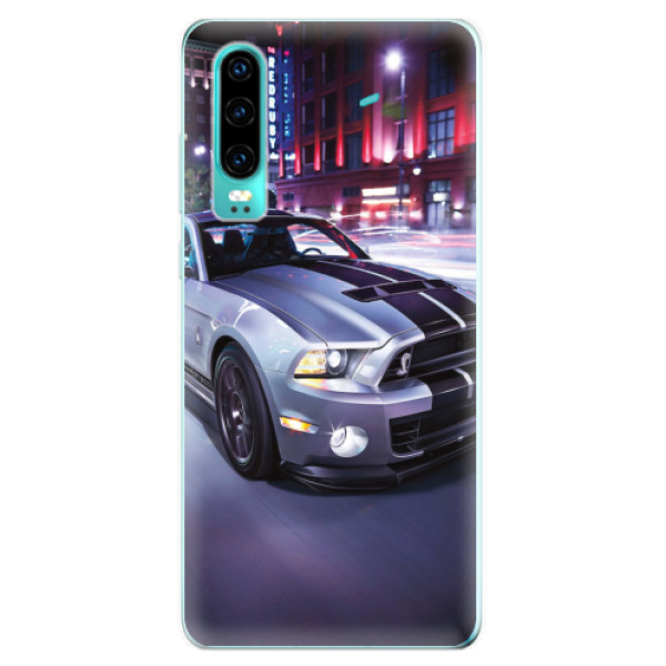 Odolné silikonové pouzdro iSaprio - Mustang - Huawei P30