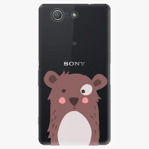 Plastový kryt iSaprio - Brown Bear - Sony Xperia Z3 Compact