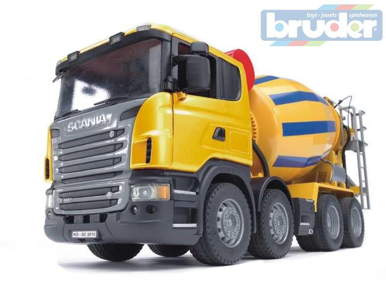 BRUDER 03554 (3554) Nákladní auto SCANIA domíchávač