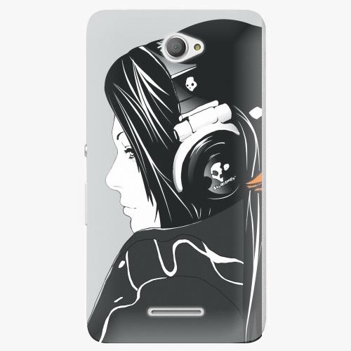 Plastový kryt iSaprio - Headphones - Sony Xperia E4