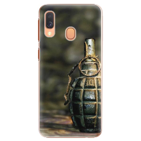 Plastové pouzdro iSaprio - Grenade - Samsung Galaxy A40