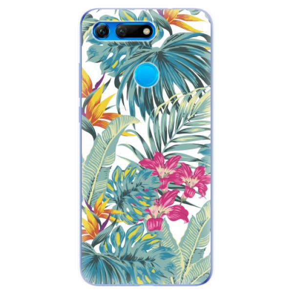 Odolné silikonové pouzdro iSaprio - Tropical White 03 - Huawei Honor View 20