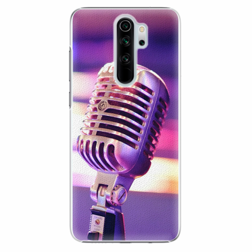 Plastový kryt iSaprio - Vintage Microphone - Xiaomi Redmi Note 8 Pro