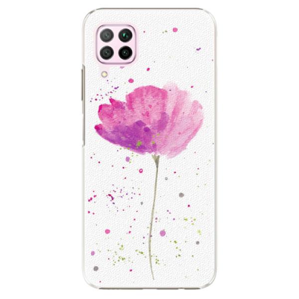 Plastové pouzdro iSaprio - Poppies - Huawei P40 Lite