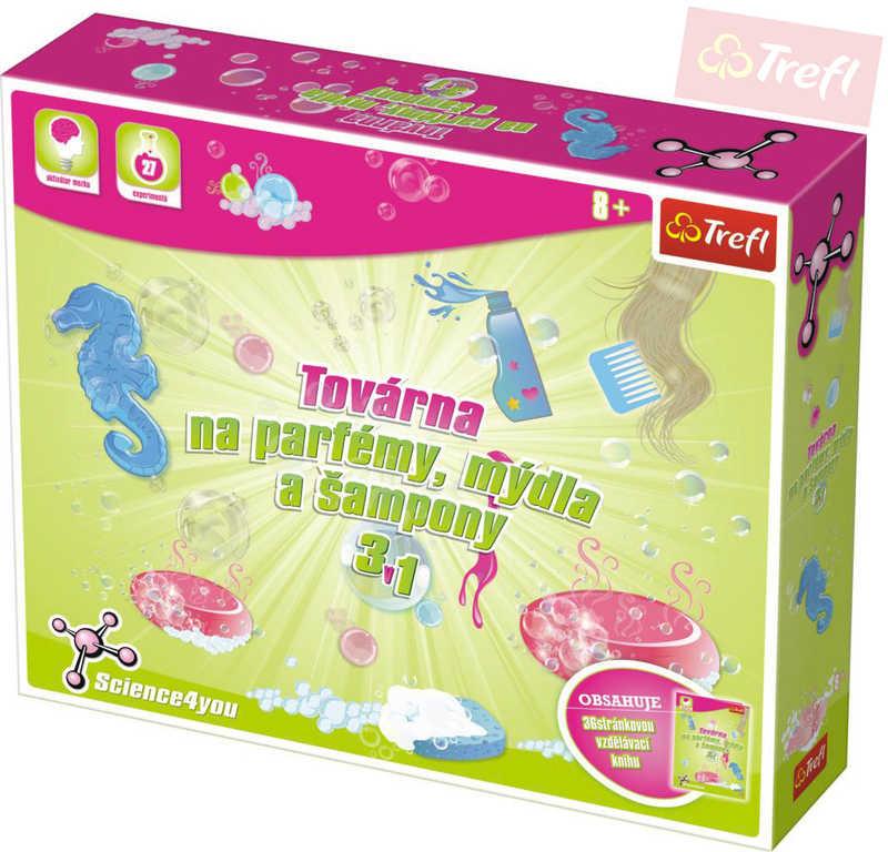 TREFL Vědecká sada Továrna na parfémy, mýdla a šampony Science 4 you