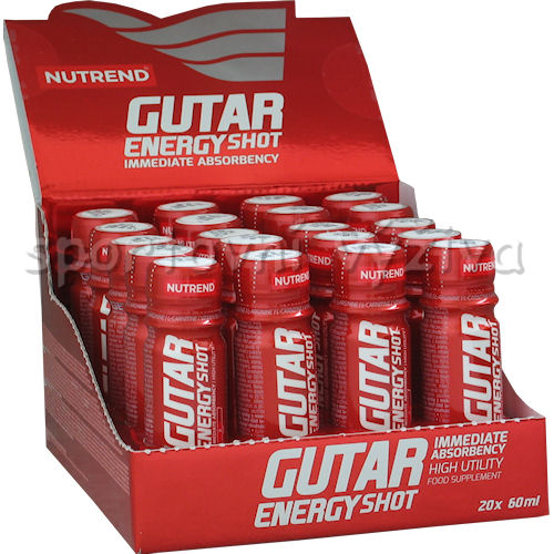 Gutar Energy Shot 20x60ml ampule