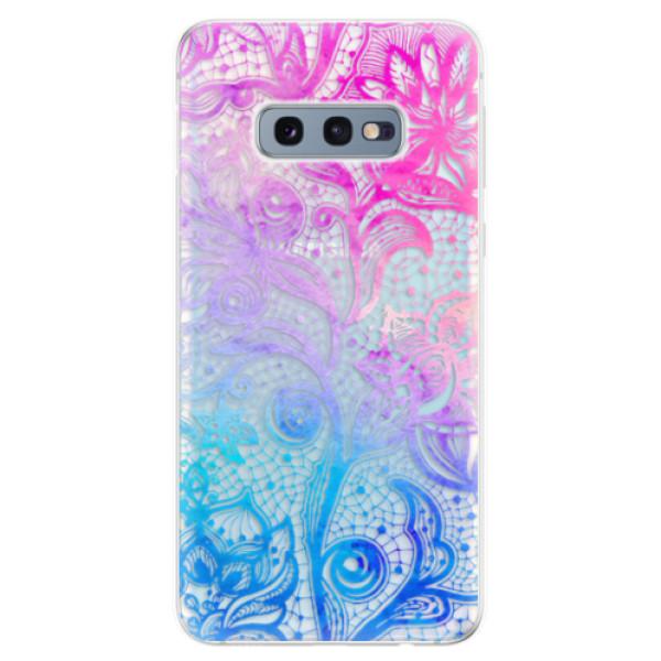 Odolné silikonové pouzdro iSaprio - Color Lace - Samsung Galaxy S10e