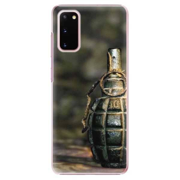 Plastové pouzdro iSaprio - Grenade - Samsung Galaxy S20