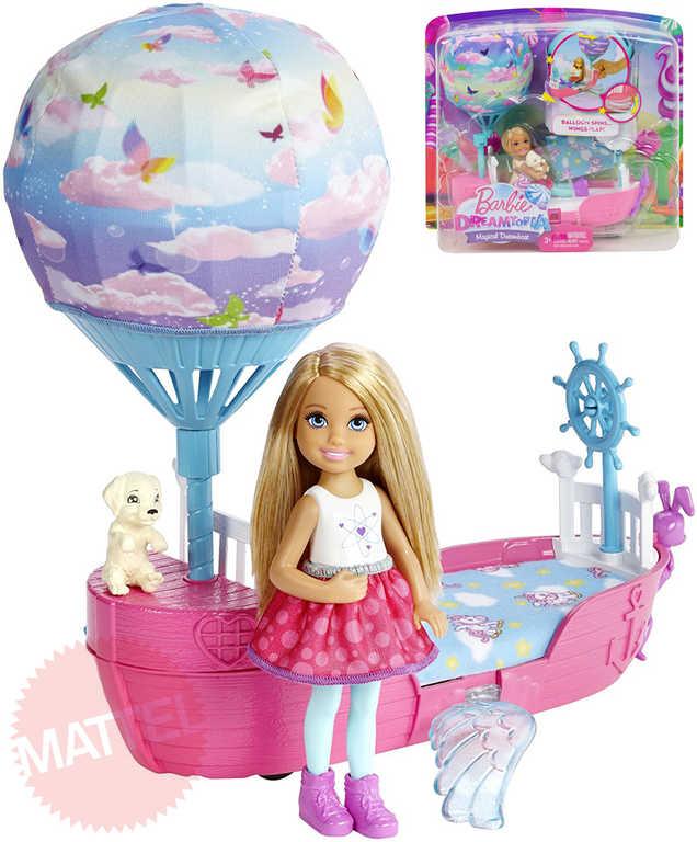 MATTEL BRB Panenka Barbie Kouzelná loď snů herní set s doplňky plast v krabici