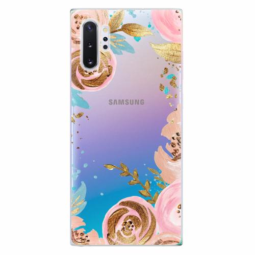 Silikonové pouzdro iSaprio - Golden Youth - Samsung Galaxy Note 10+