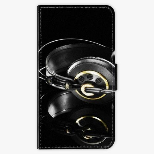 Flipové pouzdro iSaprio - Headphones 02 - Lenovo Moto G4 / G4 Plus