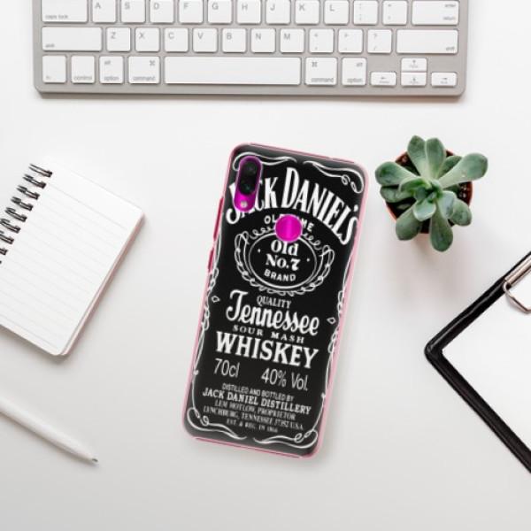 Plastové pouzdro iSaprio - Jack Daniels - Xiaomi Redmi Note 7