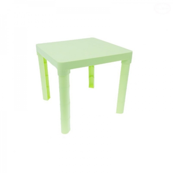 Tega dětský plastový stůl - zelený
