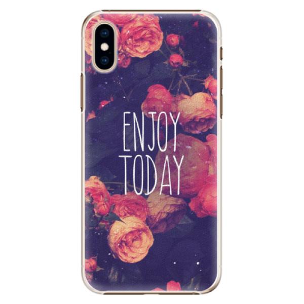 Plastové pouzdro iSaprio - Enjoy Today - iPhone XS