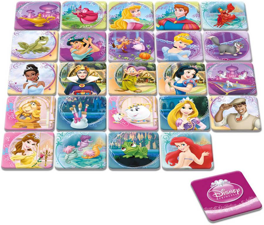 DINO Hra pexeso Disney Princezny 48 kartiček *SPOLEČENSKÉ HRY*