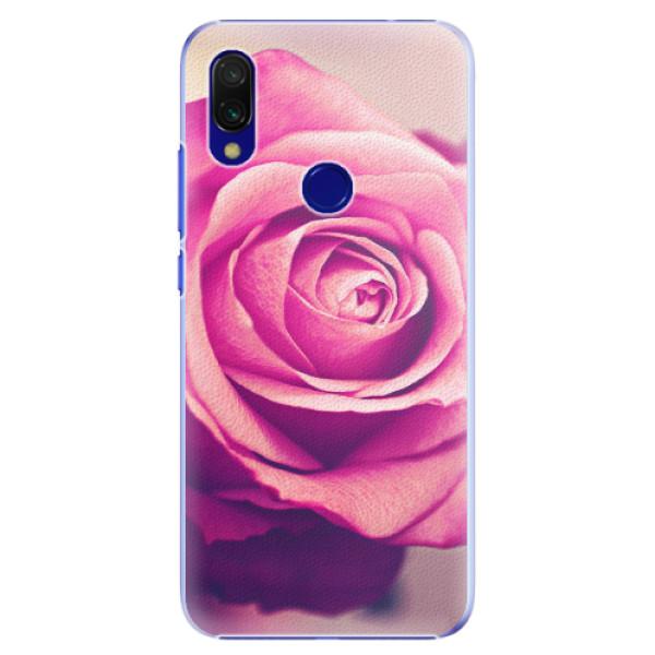 Plastové pouzdro iSaprio - Pink Rose - Xiaomi Redmi 7