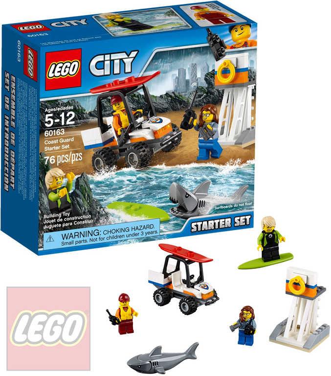 LEGO CITY Pobřežní hlídka startovací sada 60163 STAVEBNICE