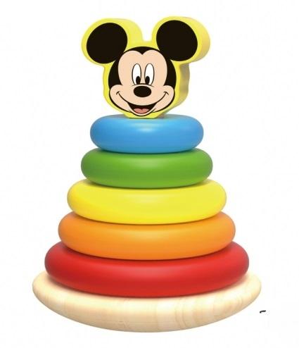 Dřevěná pyramida Disney velká, Mickey Mouse