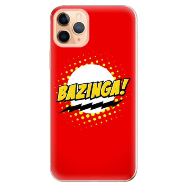 Odolné silikonové pouzdro iSaprio - Bazinga 01 - iPhone 11 Pro Max