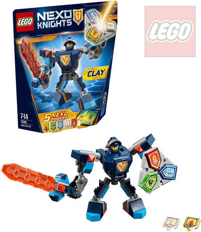LEGO NEXO KNIGHTS Clay v bojovém obleku 70362 STAVEBNICE